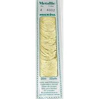 4002 Madeira Metallic Mouline №4 ,4-х слойные,спираль 20 м.
