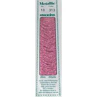 313 Madeira Metallic Perle №10 , 2-х слойные,спираль 20м.