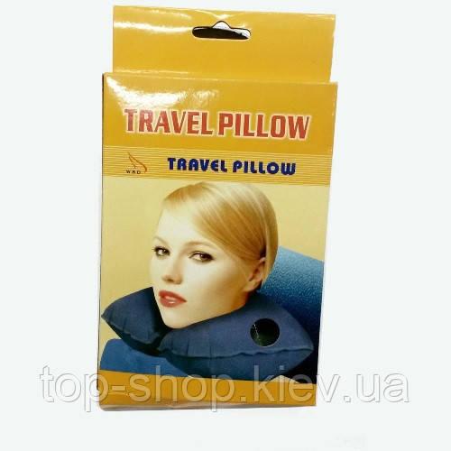 Дорожная подушка под шею Travel Pillow