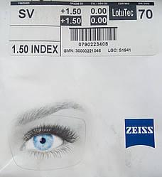 Линза для очков Zeiss LotuTec 70