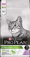 PRO PLAN (Про План) Sterilised сухой корм для стерилизованных кошек с индейкой,10 кг