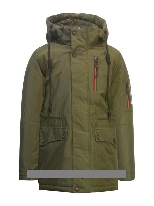 """Детская  демисезонная куртка-парка для мальчика """"Suber Byber"""" 358, размеры от 128-152"""