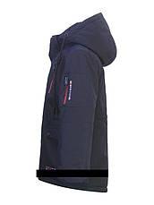 """Детская  демисезонная куртка-парка для мальчика """"Suber Byber"""" 358, размеры от 128-152, фото 3"""