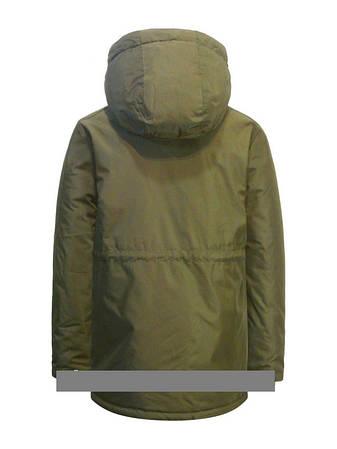 """Детская  демисезонная куртка-парка для мальчика """"Suber Byber"""" 358, размеры от 128-152, фото 2"""