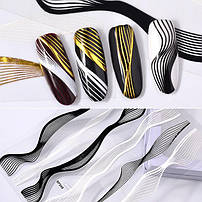 Гнучка 3D стрічка для дизайну нігтів