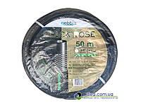 "Шланг ПВХ Black Rose 3/4"" (19мм) поливочный 25м, фото 1"