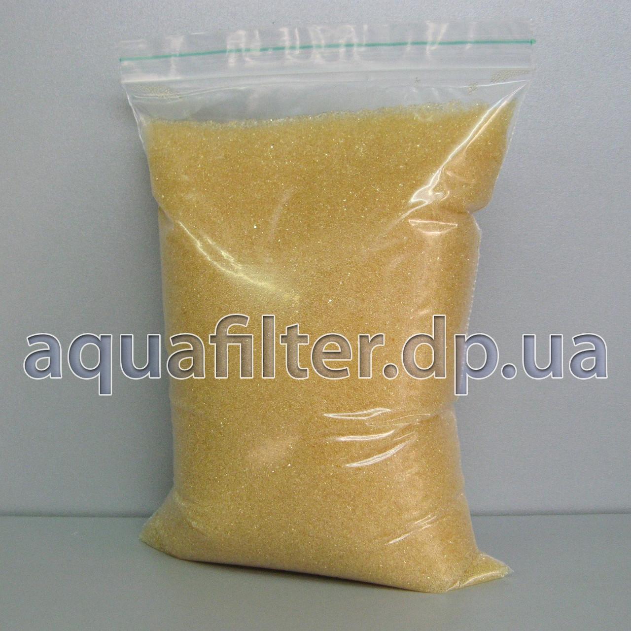 Ионообменная смола Purolite C100E для умягчения воды (фасовка 1 кг)