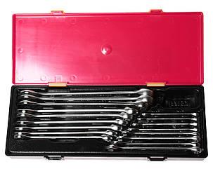 Набор рожково-накидных ключей 6-23мм. 17ед. (ЕВРО-ТИП) (K6172 JTC), фото 2
