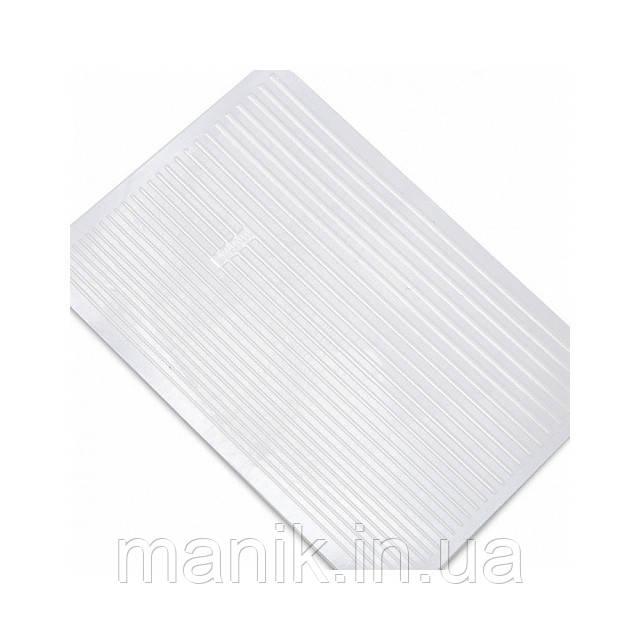 3D- гибкая лента для дизайна ногтей, белая