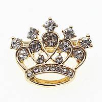 """Брошь в виде короны """"Lamir"""""""