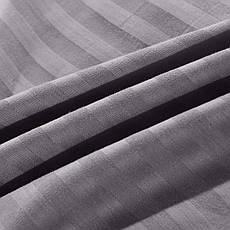 Постельное бельё двуспальное 180*220 страйп-сатин люкс (10802) TM KRISPOL Украина, фото 3