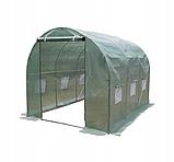 Тент армований , Накриття для теплиці 2x3 м з вікнами, фото 2
