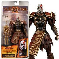 Фигурка в Кратоса в доспехах Ареса - Kratos in Ares armor, God Of War II, Neca