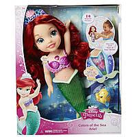 "Принцесса-русалочка Ариэль ""Краски моря"" со звуком и светом, 35см - Ariel, Princess, Colors of the sea, Disney"