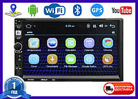 Автомагнитола 2DIN Pioneer 8702 Android GPS WIFI (магнитола на андроиде 2 дин)