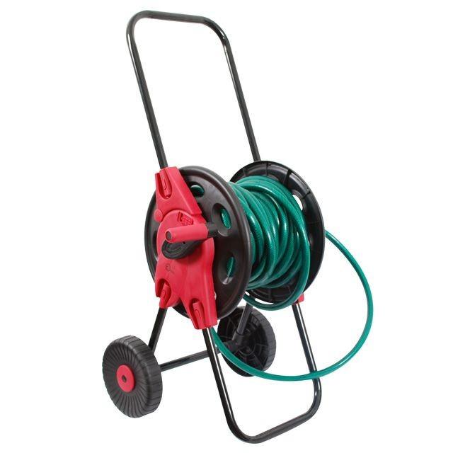 "Катушка на колесах для шланга 1/2"" 45м. PP, steel, ABS (GE-3003 Intertool)"