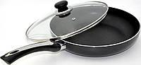 Алюминиевая сковорода СR-2406 С ТОЛСТЫМ ДНОМ