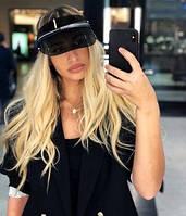 Козырек J`adior, солнцезащитный козырек, прозрачная кепка, Dior Diorclub1 козырек