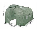 Тент армований , Накриття для теплиці 2,5x4 м з вікнами, фото 2