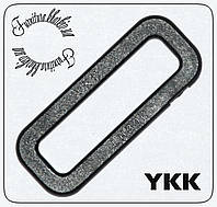 Рамка однощелевая YKK 25мм