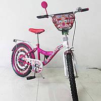 "Велосипед Tilly Автоледі 20"" T-22028 crimson + white"