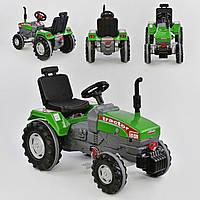Трактор с педалями большой 07-294, зеленый
