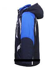 """Детская  демисезонная куртка для мальчика """"Bilemi"""" 514103 , размеры от 122-128, фото 3"""