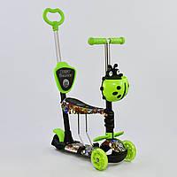 Самокат Best Scooter 5 в 1 Абстракция 59050 подсветка платформы и колес