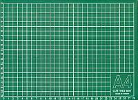 Мат для резки ткани 22х30 см,Gamma,Тайвань