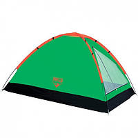 Палатка туристическая 68010 (210*210*130 см), 3-местная, антимоскитная сетка, сумка