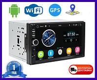 Автомагнитола 2DIN Pioneer 8702 Android GPS WIFI (магнитола на андроиде 2 дин)  Длинная база