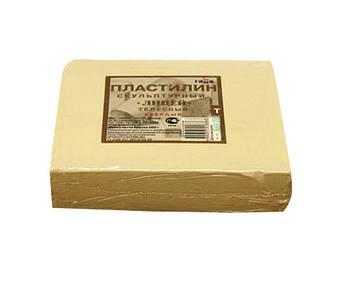 Пластилин скульптурный ГАММА Лицей 500гр телесный твердый  2.80.Е050.001