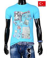 Стильные подростковые футболки.Разные цвета.