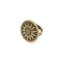 Кольцо Оберег бронза