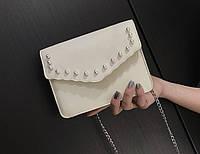 """Красивая женская сумка на цепочке """"Жемчужина"""""""