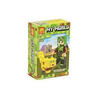 "Конструктор ""My World: Minecraft Оцелот"" 33260"