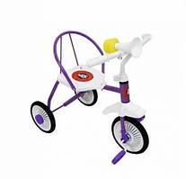 3-х колёсный велосипед Неоновый гвоздик (6шт/ящ) фиолетовый TR235