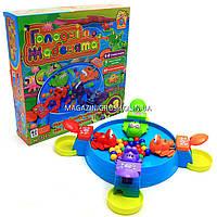 Детская настольная игра Fun Game «Голодные лягушата» (голодні жабенята) 7293