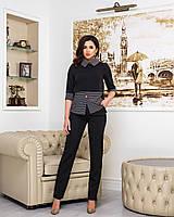Костюм женский блузка и брюки  перф017, фото 1