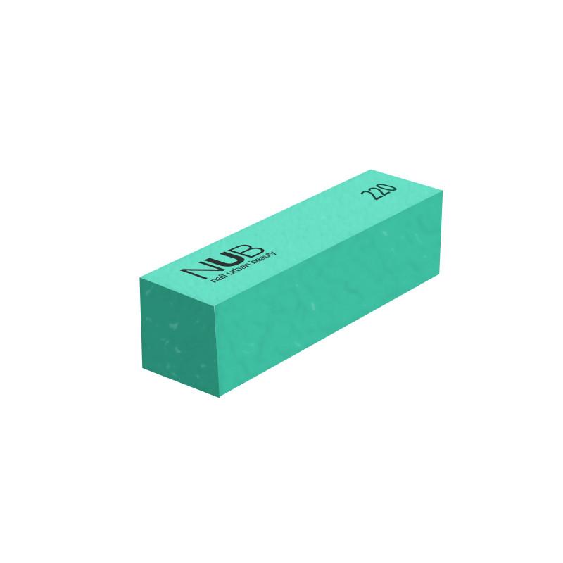 Баф для натуральных и искуственных ногтей NUB 220