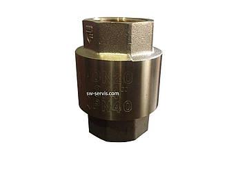 Зворотний клапан посилений 1 дюйм латунний