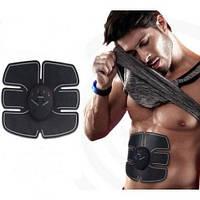 Миостимулятор бабочка электронный массажер EMS-1 электромассажер для мышц пресса спины снятия болей тренировки