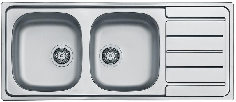 Кухонная мойка Alveus Line 100 (Нержавейка) (с доставкой)