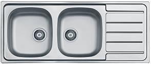 Кухонная мойка Alveus Line 100 (Нержавейка) (с доставкой), фото 2