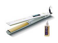 Утюжок для волос GA.MA Elegance Digital Argan Белый GI0201, КОД: 284867