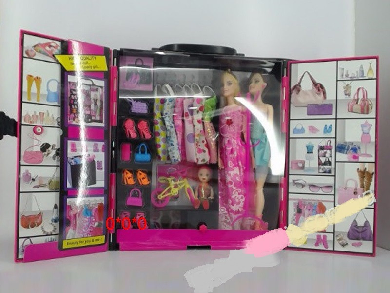 Шкаф игрушечный для куклы