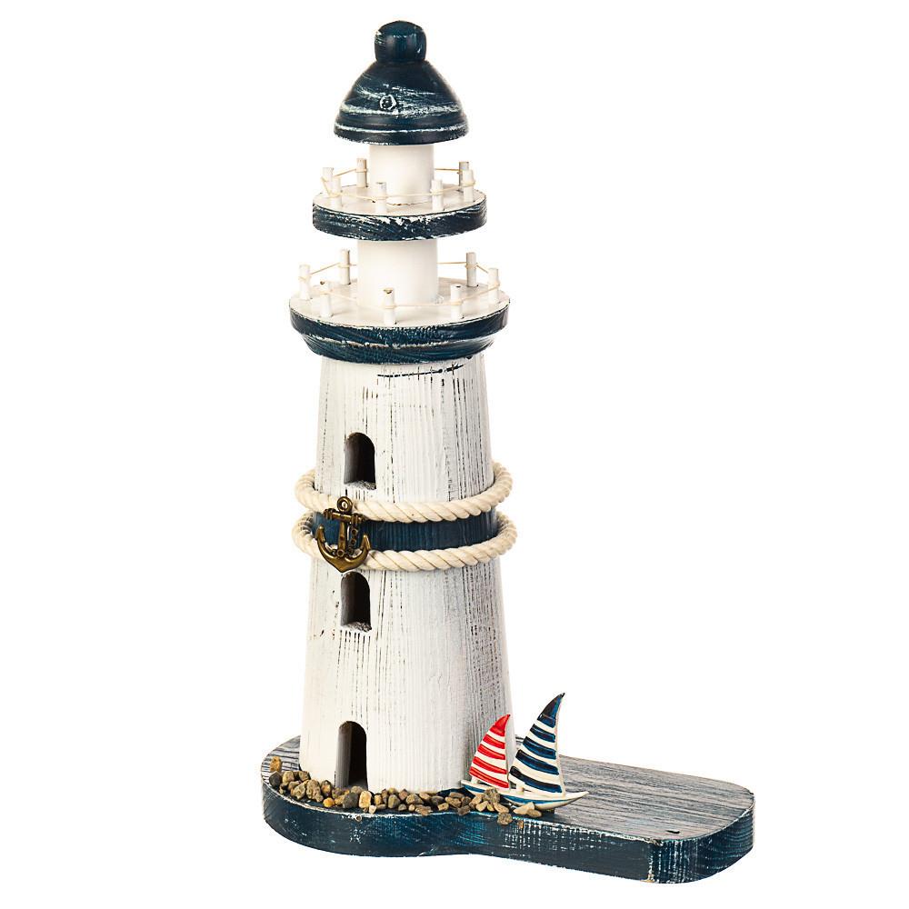 Світиться маяк з фігуркою морячки, 095JH