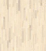 Паркетная доска Grabo Ясень Натур белый лак 3-пол (B-G)