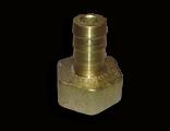 Латунный Штуцер 10 мм , с внутренней резьбой 1/2 под шланг 10 мм