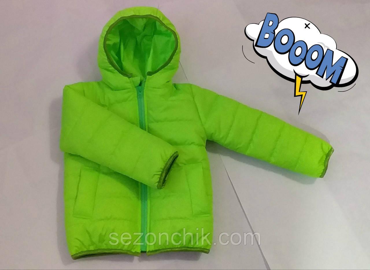 Курточка детская яркая демисезонная